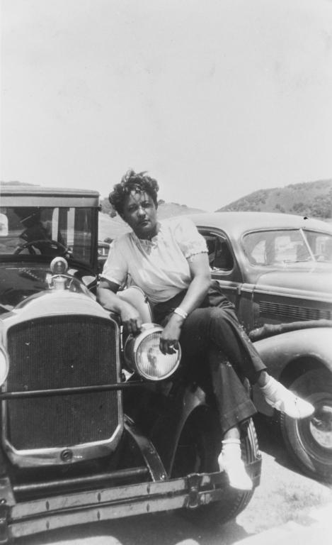 Ernestine Black, Avila Beach : 1945