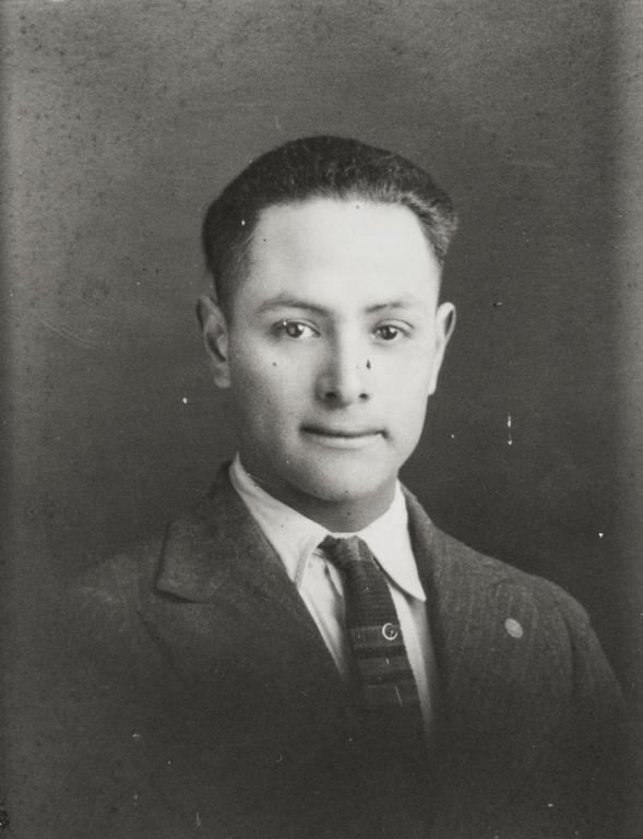 John A. Barrios, son of Francisca Ortega and Juan Barrios : ca. 1918.