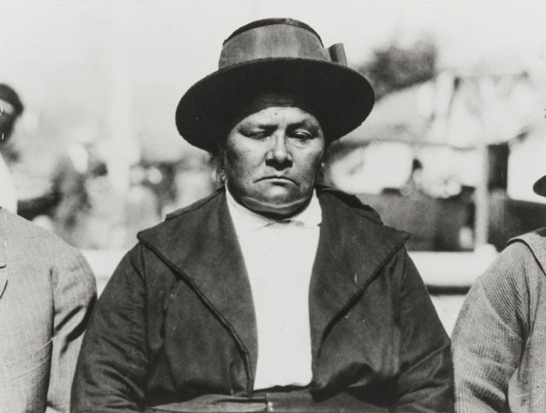 Juliana Ygnacio, daughter of José and Luisa Ygnacio : 1923.