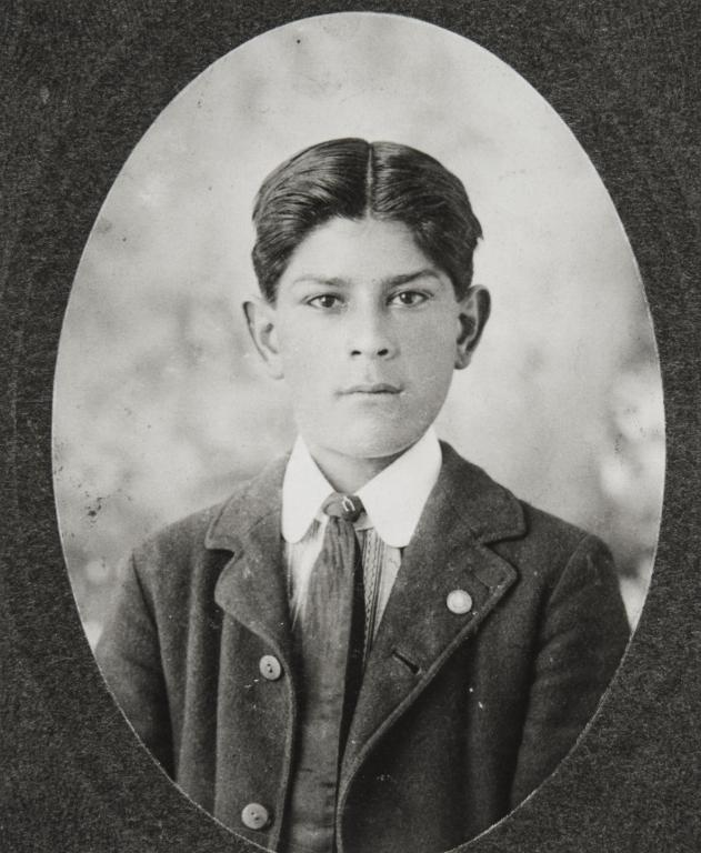 William Branch, son of Catherine Bermúdez (née O'Brien) : ca. 1897.