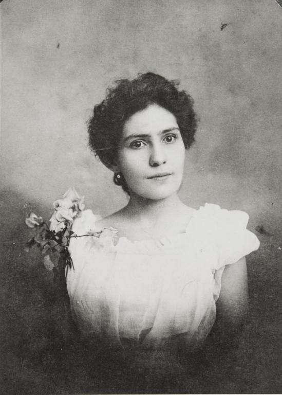 Rose O'Brien, daughter of John and Juana O'Brien : ca. 1900.
