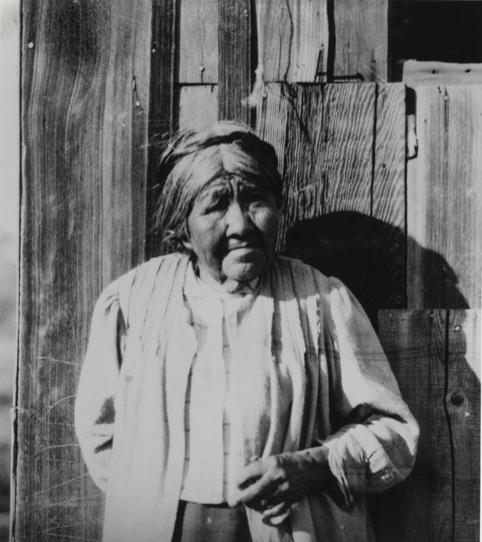María Solares, who worked extensively with John P. Harrington to document the Inéseño Chumash language and culture.