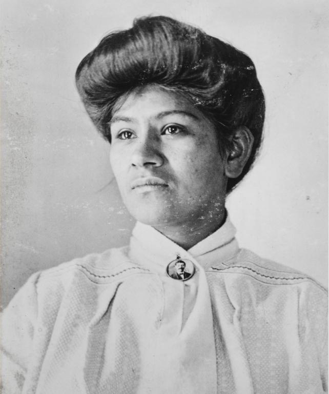 María Marfesa Piña (née Aguirre), daughter of María Antonia Piña.
