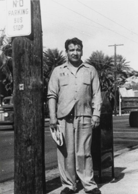 Timothy Olivas, grandson of Rosario Cooper : ca. 1925.