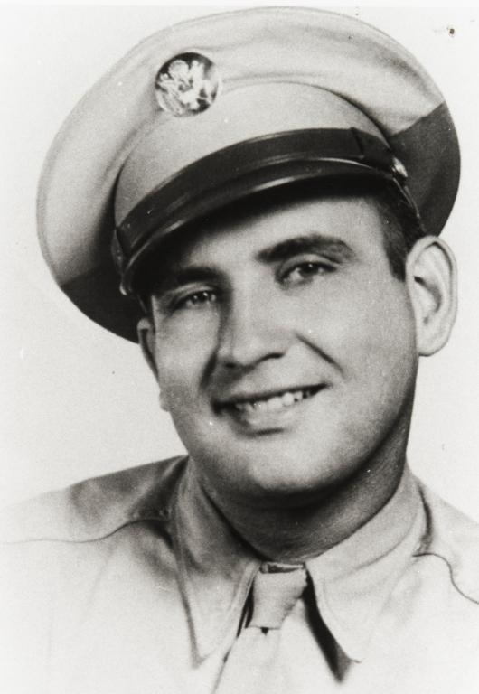 James Allen Lathrop, great grandson of Rosario Cooper, in uniform.
