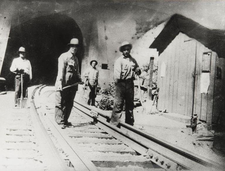 Manuel Ranjel, railroad worker.