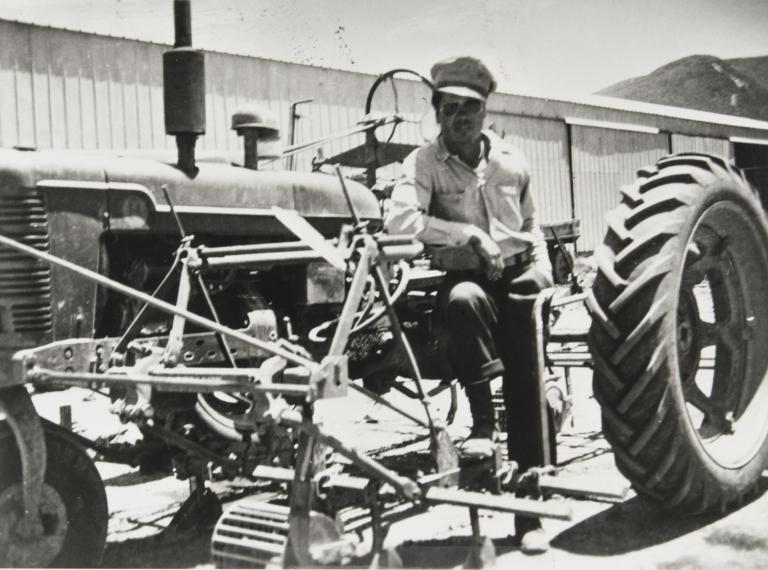 Tractor driver, Lompoc.