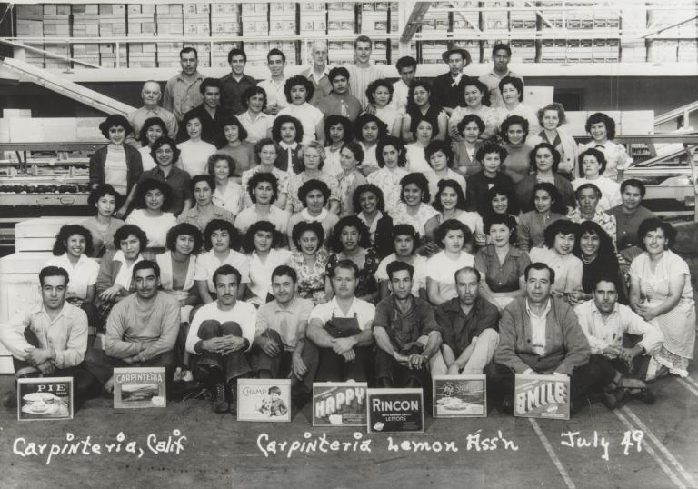 Carpinteria Lemon Association.