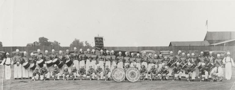 American Legion Band - Anita and John Alvarez.
