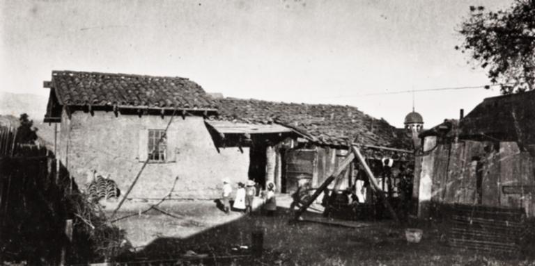 Old adobe home in Santa Barbara.