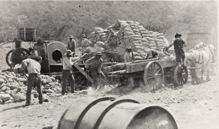Casitas Dam crew.