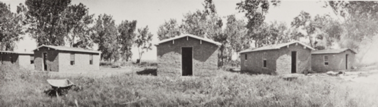Adobe housing for farm workers, Oxnard : 1899.