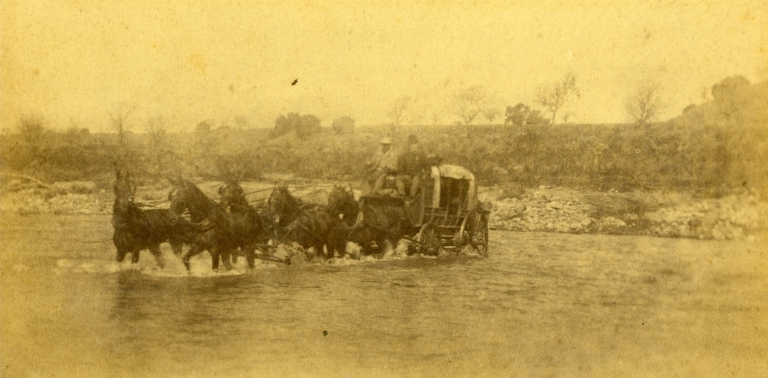 Stagecoach Crossing River