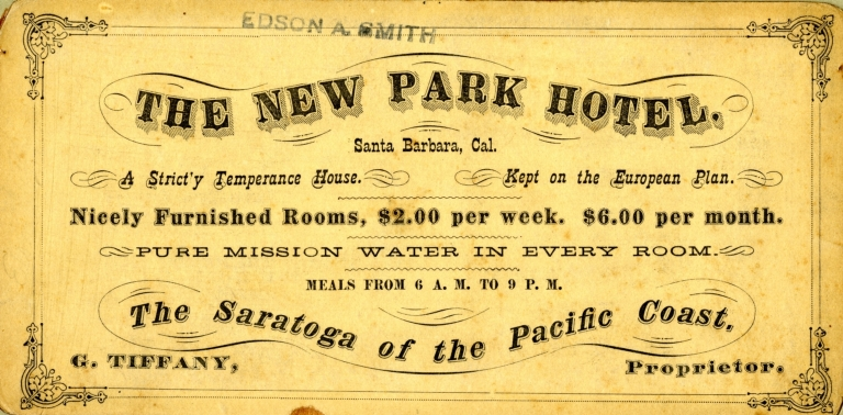 Santa Barbara Advertisement