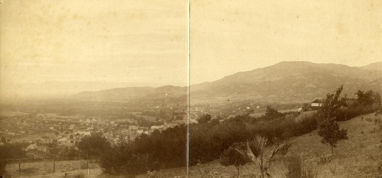 Panoramic of Los Gatos