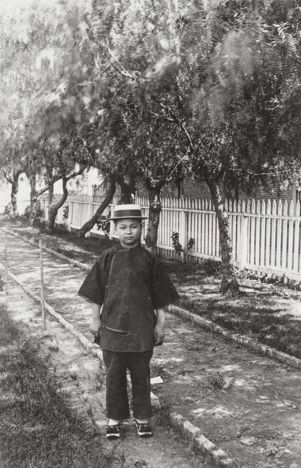 Charlie Sing, Domestic, San Marcos Hotel, Santa Barbara : 1889.