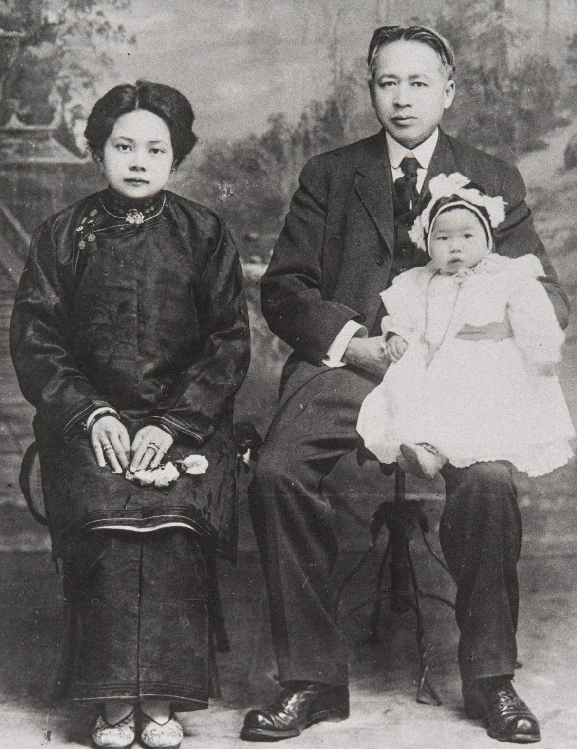 Yong Kay Family, employee of Thomas Bard : 1912.