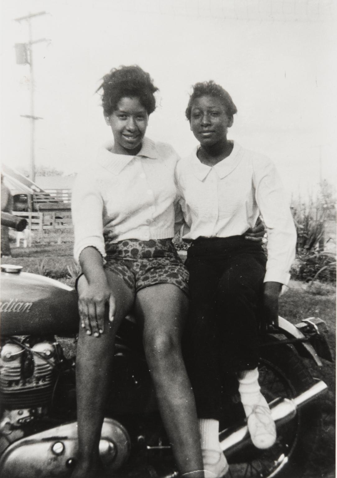 McCray and Renee Kindles, Airport Circle, Santa Maria :1950s.