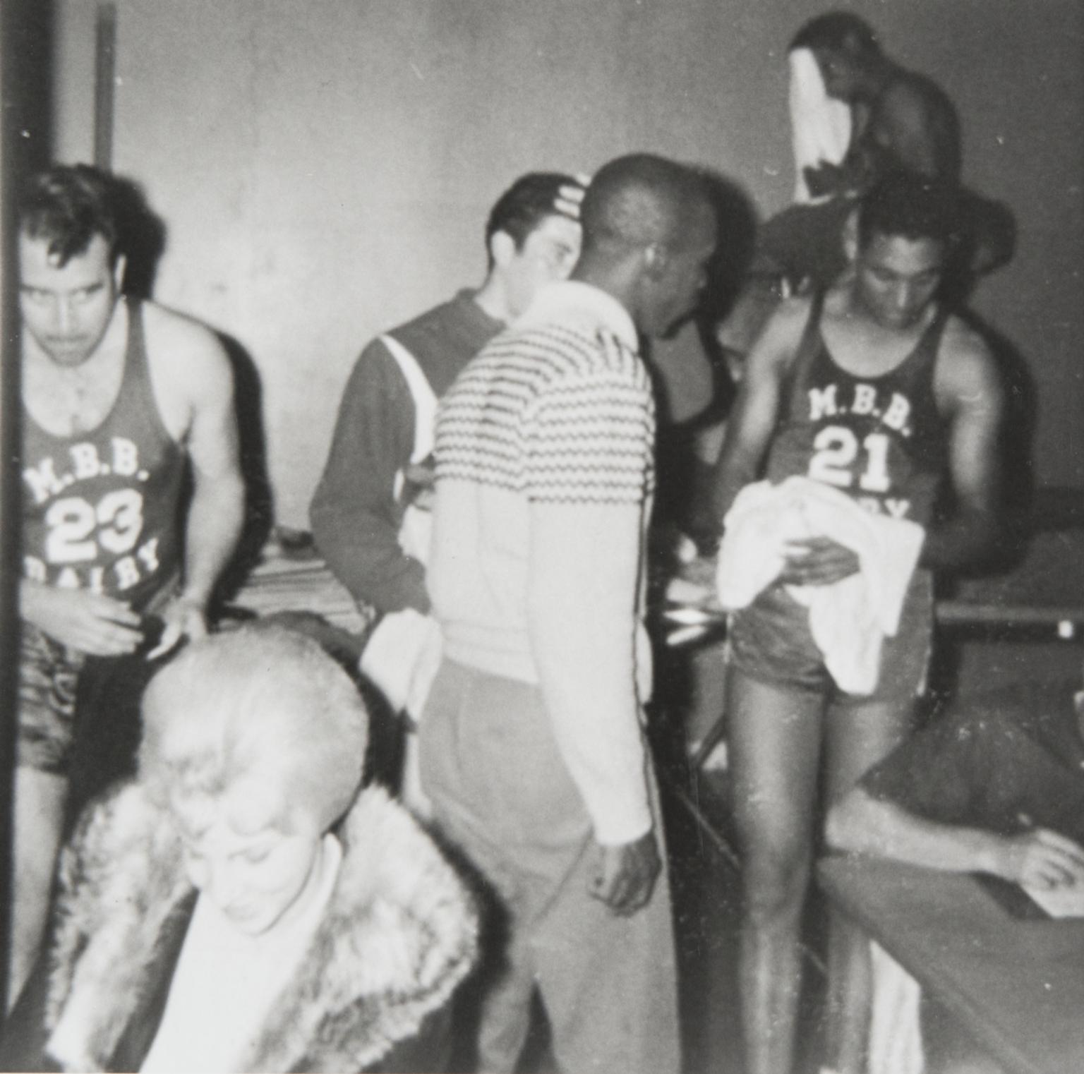 Santa Maria High School Gym, John B. Sirls and J. Wilson : late 1950s.