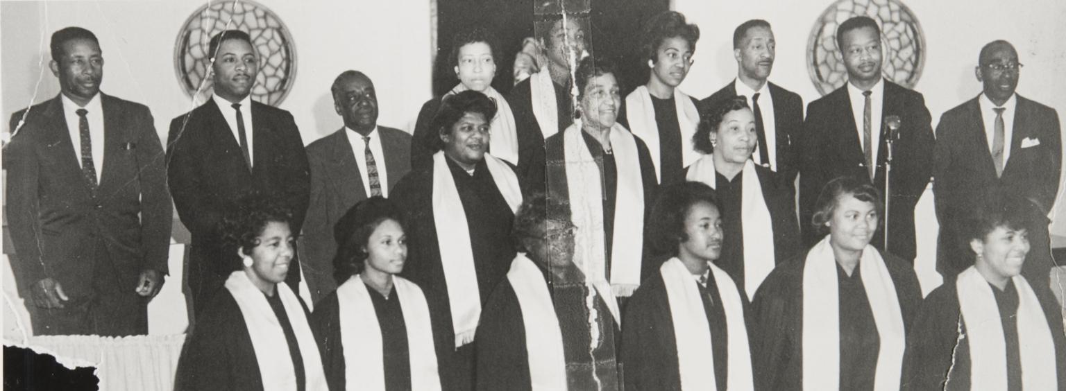 Choir of San Luis Obispo Springfield Baptist Church : 1968.
