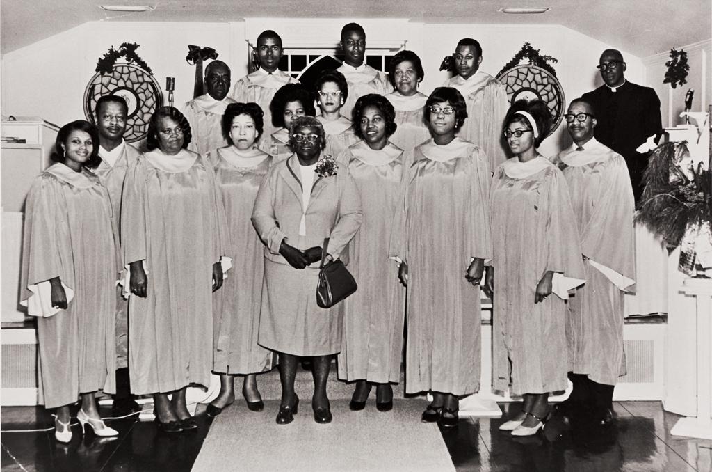 Members of Choir of San Luis Obispo Springfield Baptist Church.