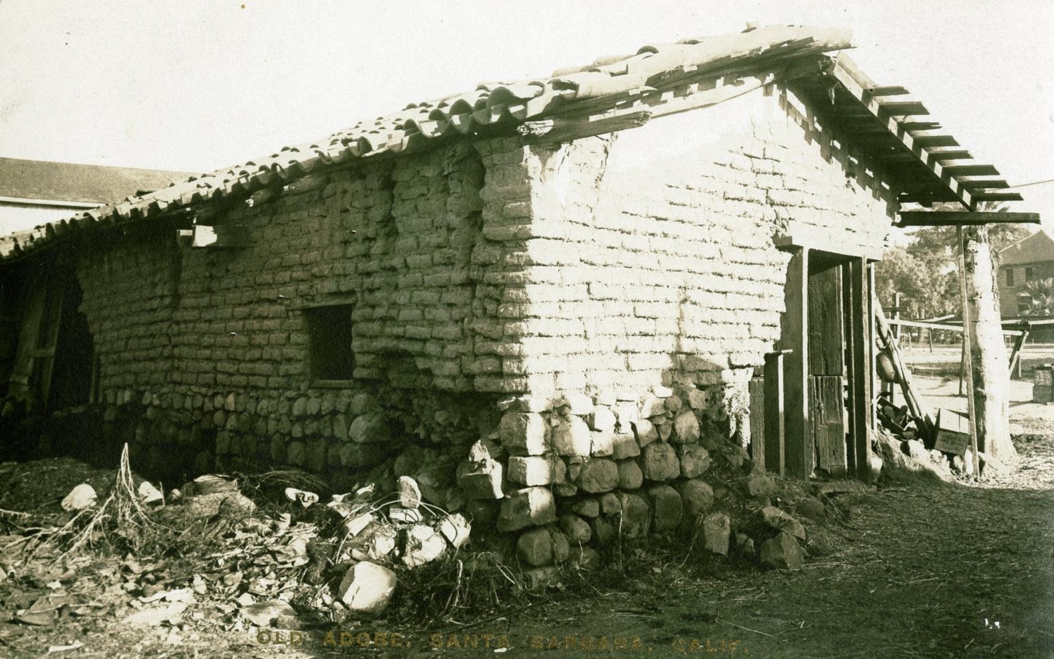 Cookhouse Behind James Burke Adobe