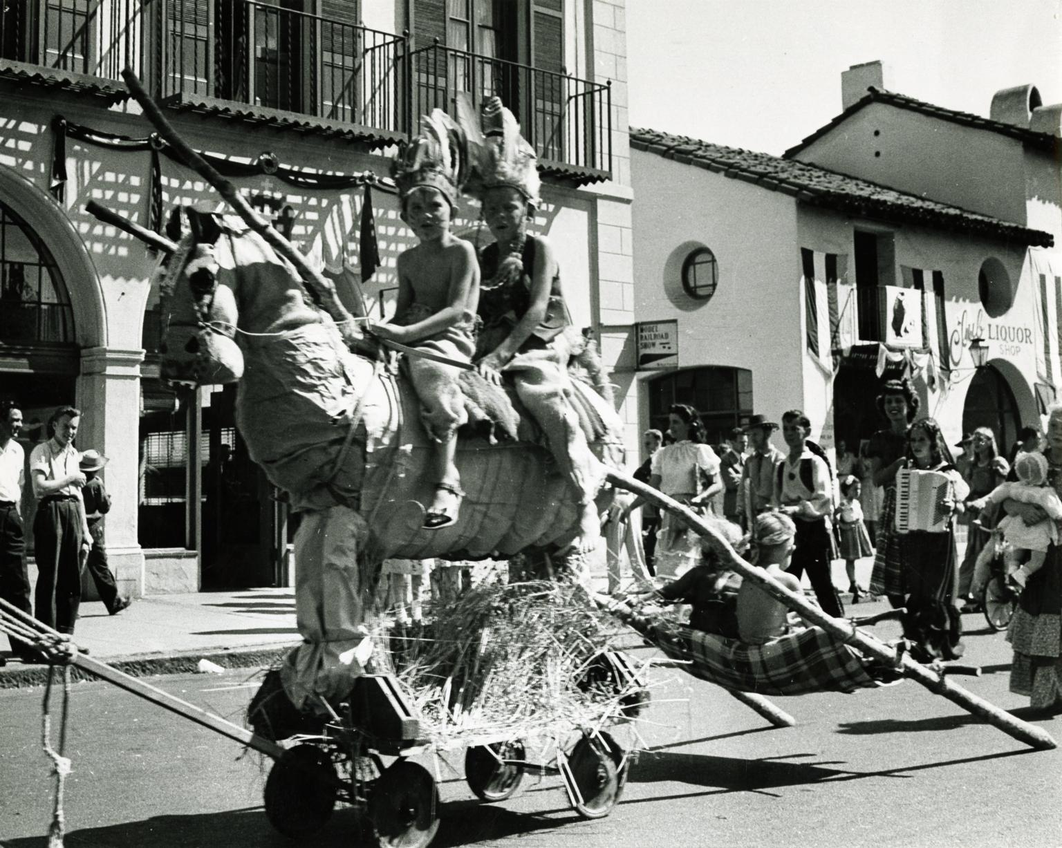 Fiesta Parade on State Street