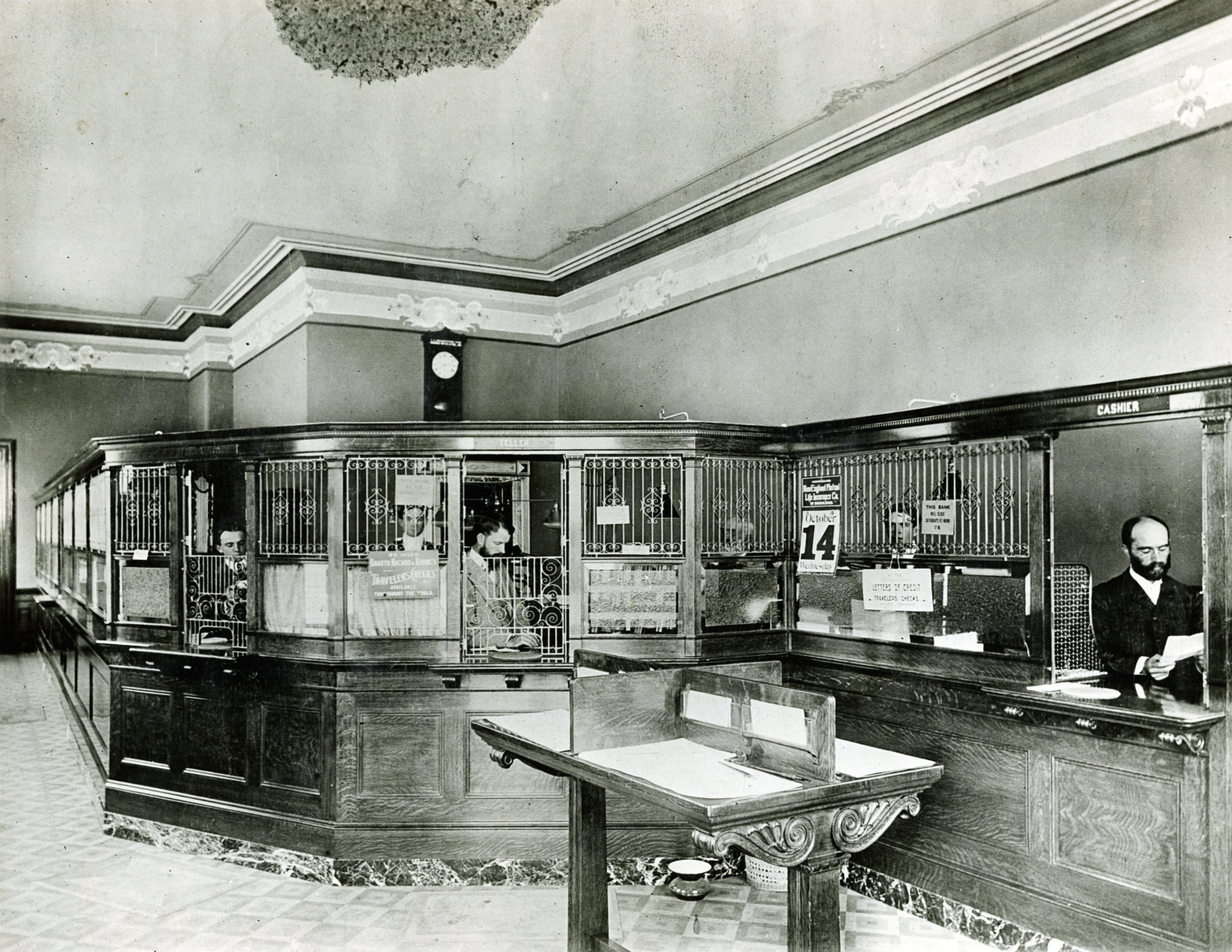 First National Bank - Interior