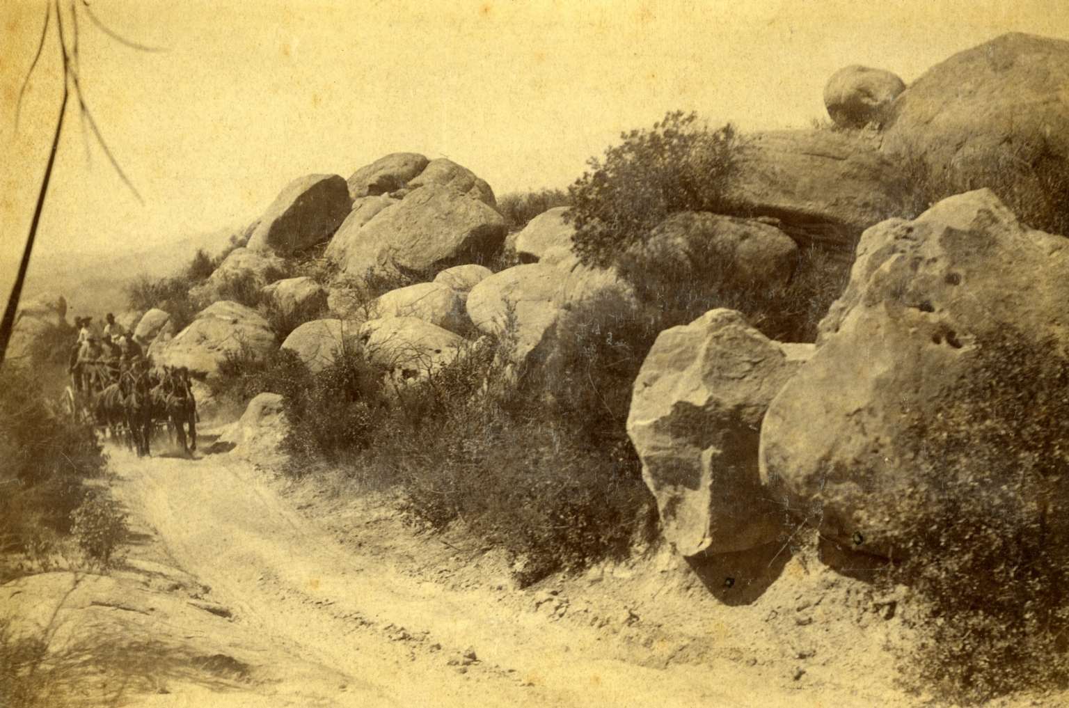 Stagecoach on San Marcos Pass