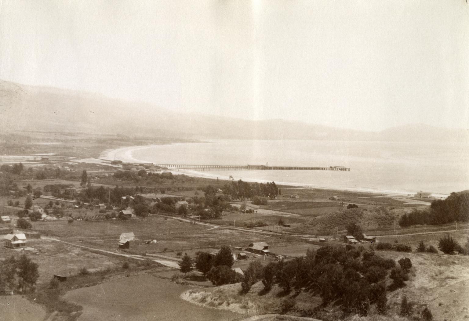 Panoramic of Waterfront