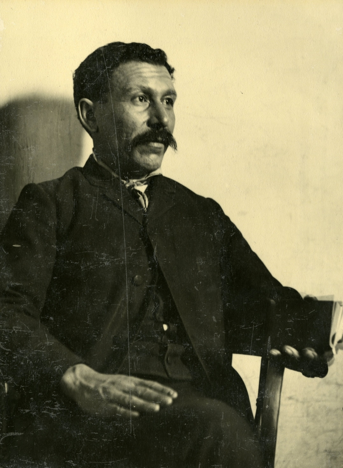 Portrait of Ramon E. Lopez