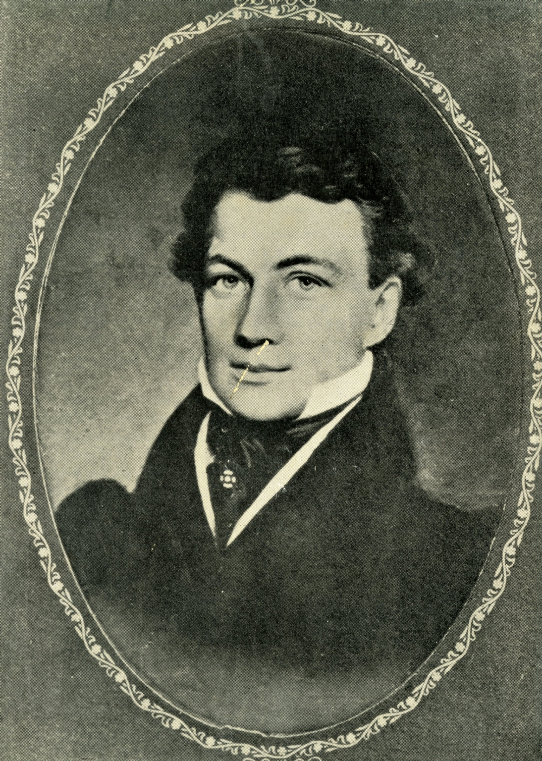 Portrait of Captain Francis A. Thompson