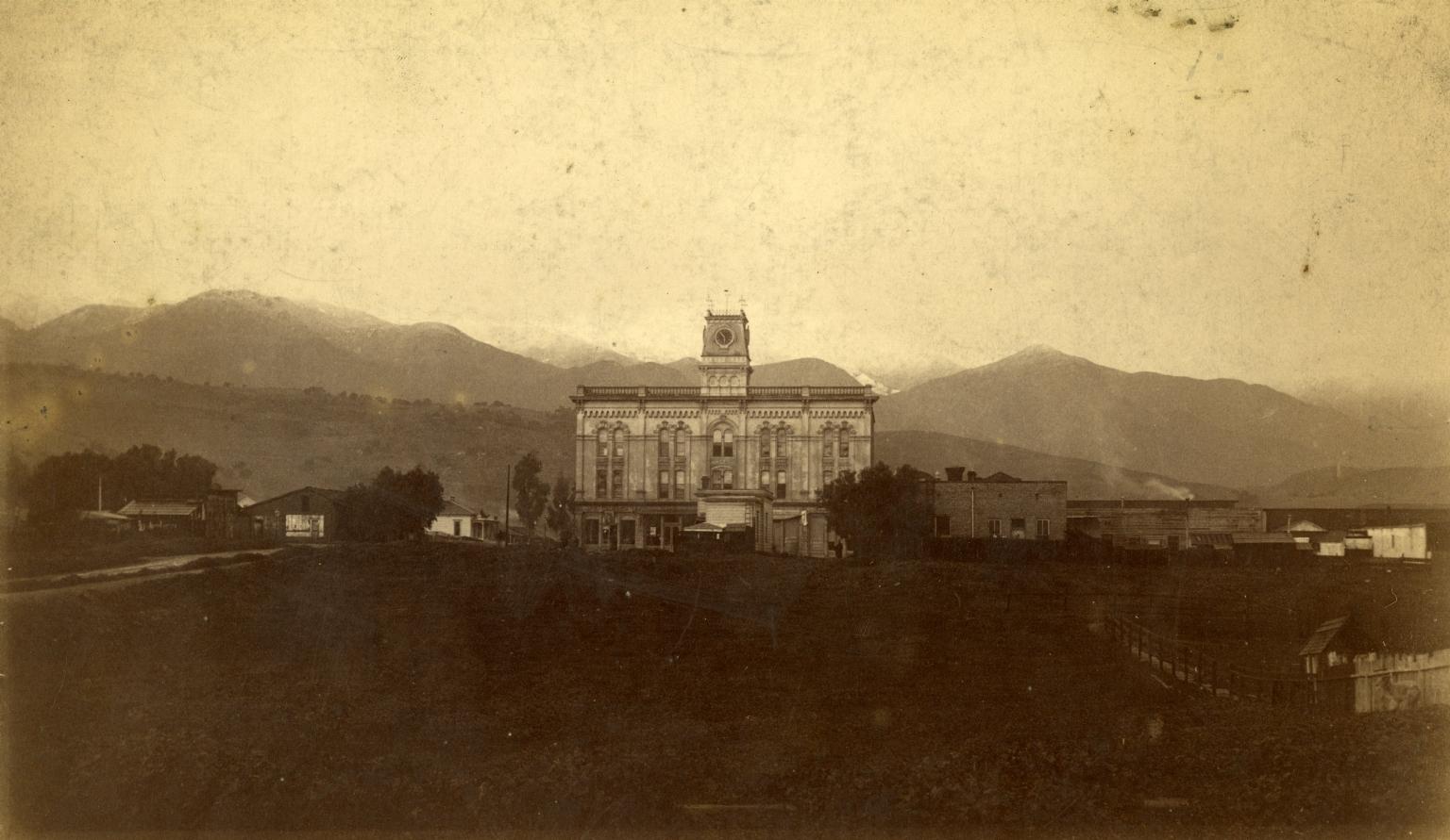 Upper Clock Building