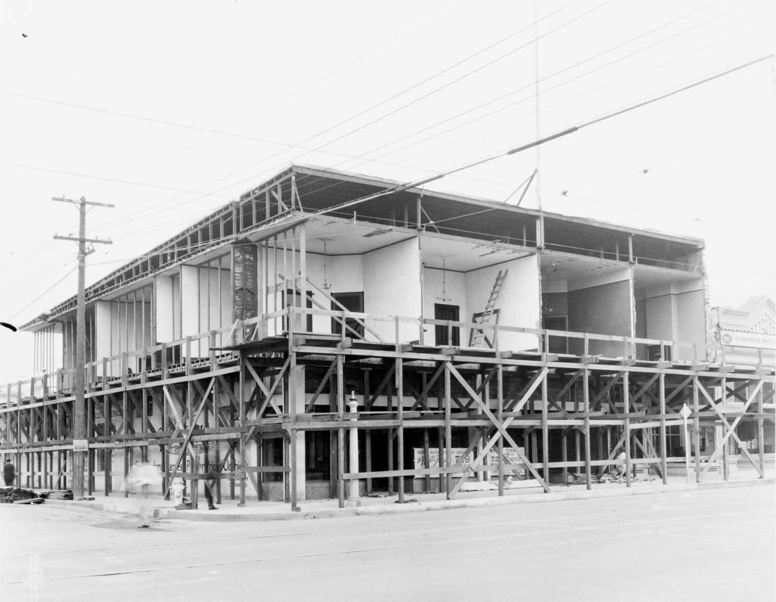 Santa Barbara 1925 Earthquake Damage - 700 Block State Street