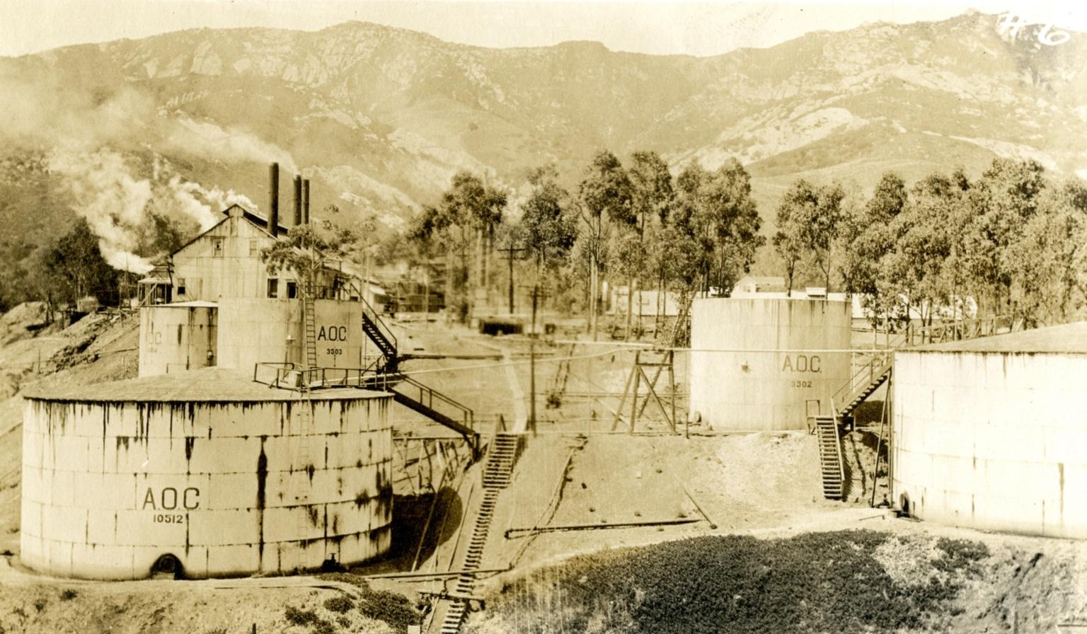 Oil Fields / Asphalt Mine