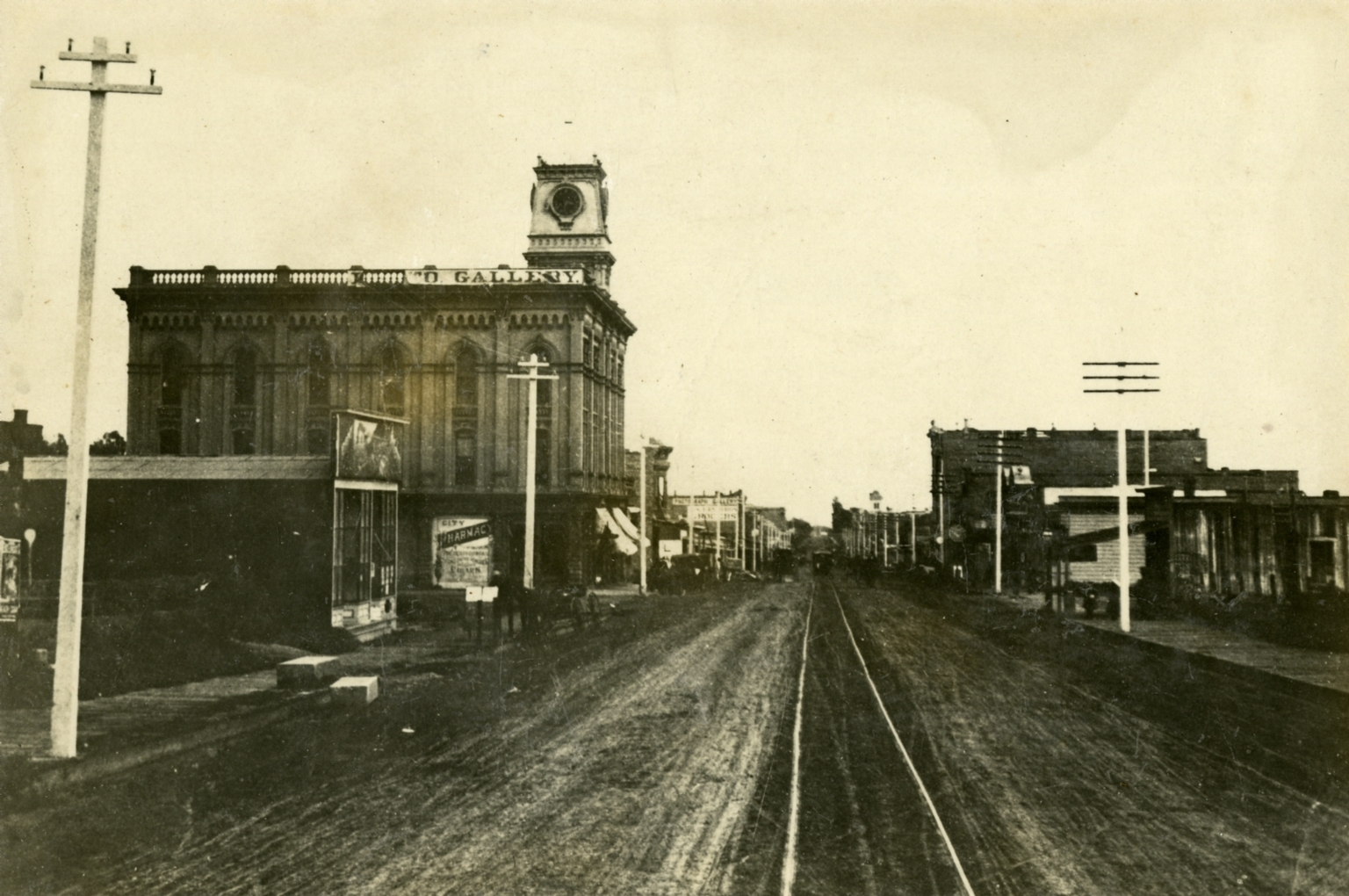 Looking Down State Street at Carrillo Street