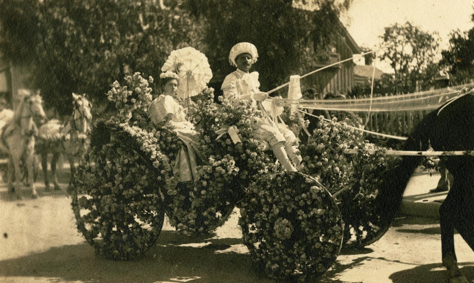 Flower Festival Carriage