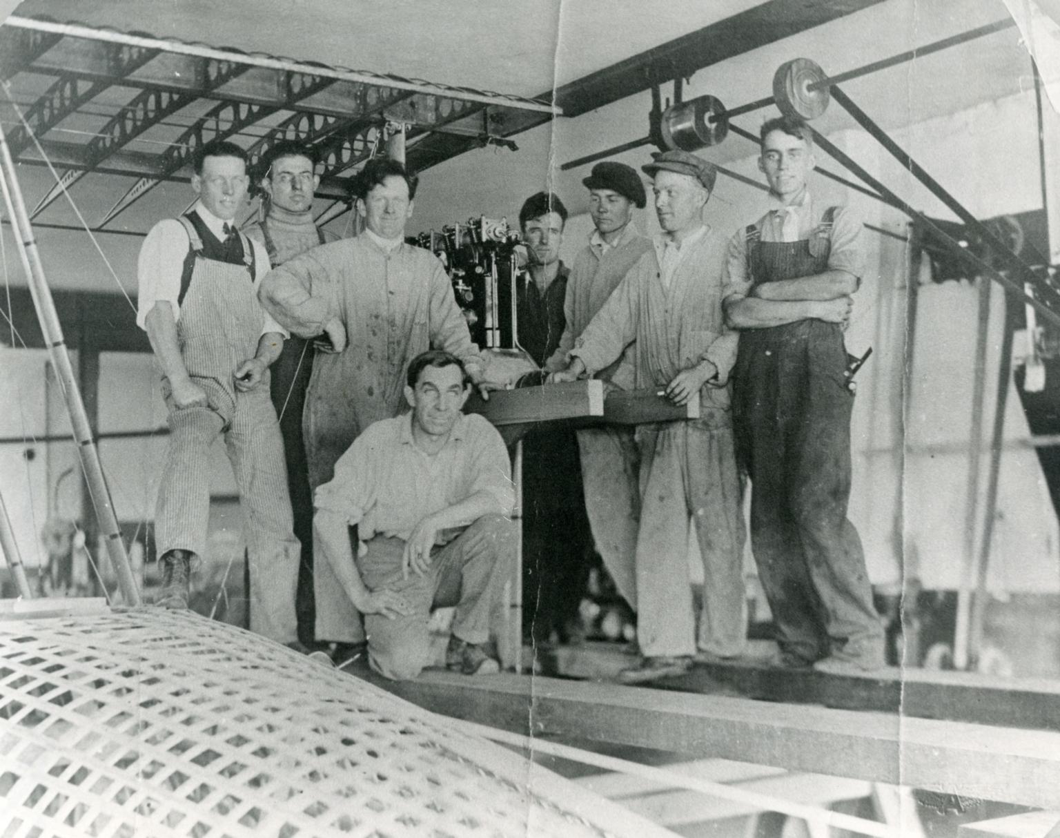 Lockheed Brothers and Crew
