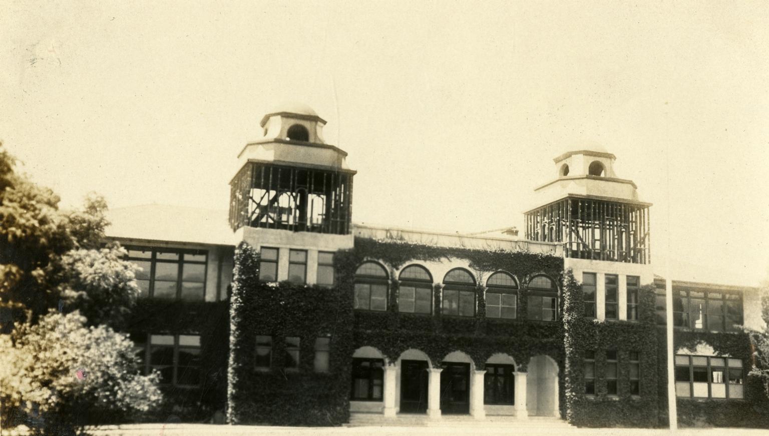 Santa Barbara 1925 Earthquake Damage - School